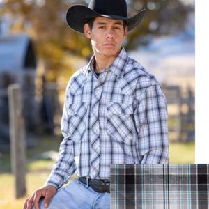 WYOMING TRADERS SNAP UP WESTERN OVERSIZED SHIRT